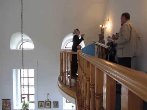 Как научиться регентовать в православном храме видео