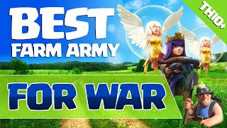 Clash of Clans: BEST FARM ARMY FOR WAR PLAYERS? (MY FAVORITE @ TH10)