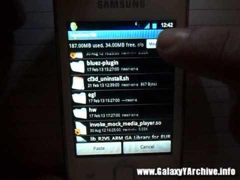 Play HD games on Galaxy Y with new EGL...