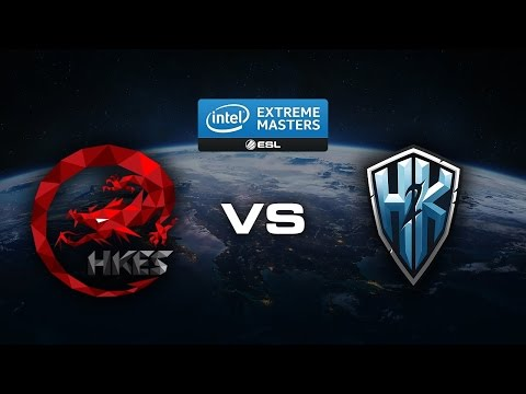H2K-Gaming vs Hong Kong Esports - IEM Katowice 2017 - LoL - Faza grupowa - Gra 3