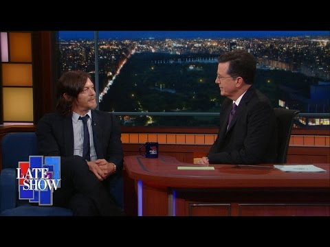 Norman Reedus Teaches Stephen The Rules of Manliness