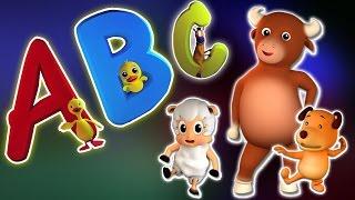 ABC Song | Karikatur-3D für Kinder | Bildungs Video | Learn Alpahbets