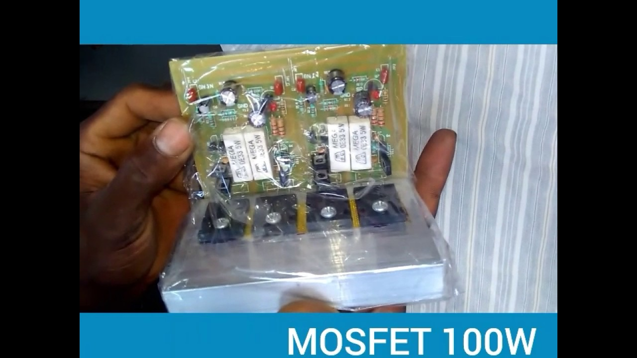 Mosfet 100w Amp Youtube 100 W Subwoofer Circuit Diagram