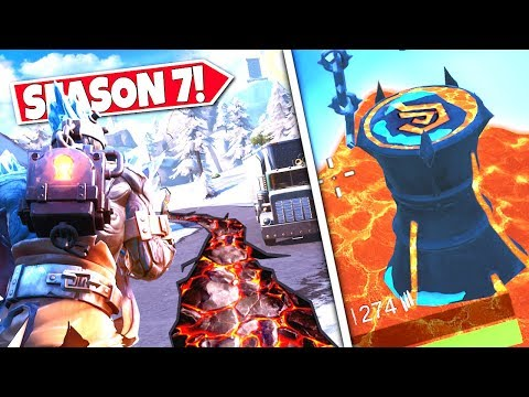 *NEW* LAVA CRACKS *APPEARING* AS SNOWFALL FIRE KING BEGINS THE EARTHQUAKE EVENT! SEASON 7 UPDATE!