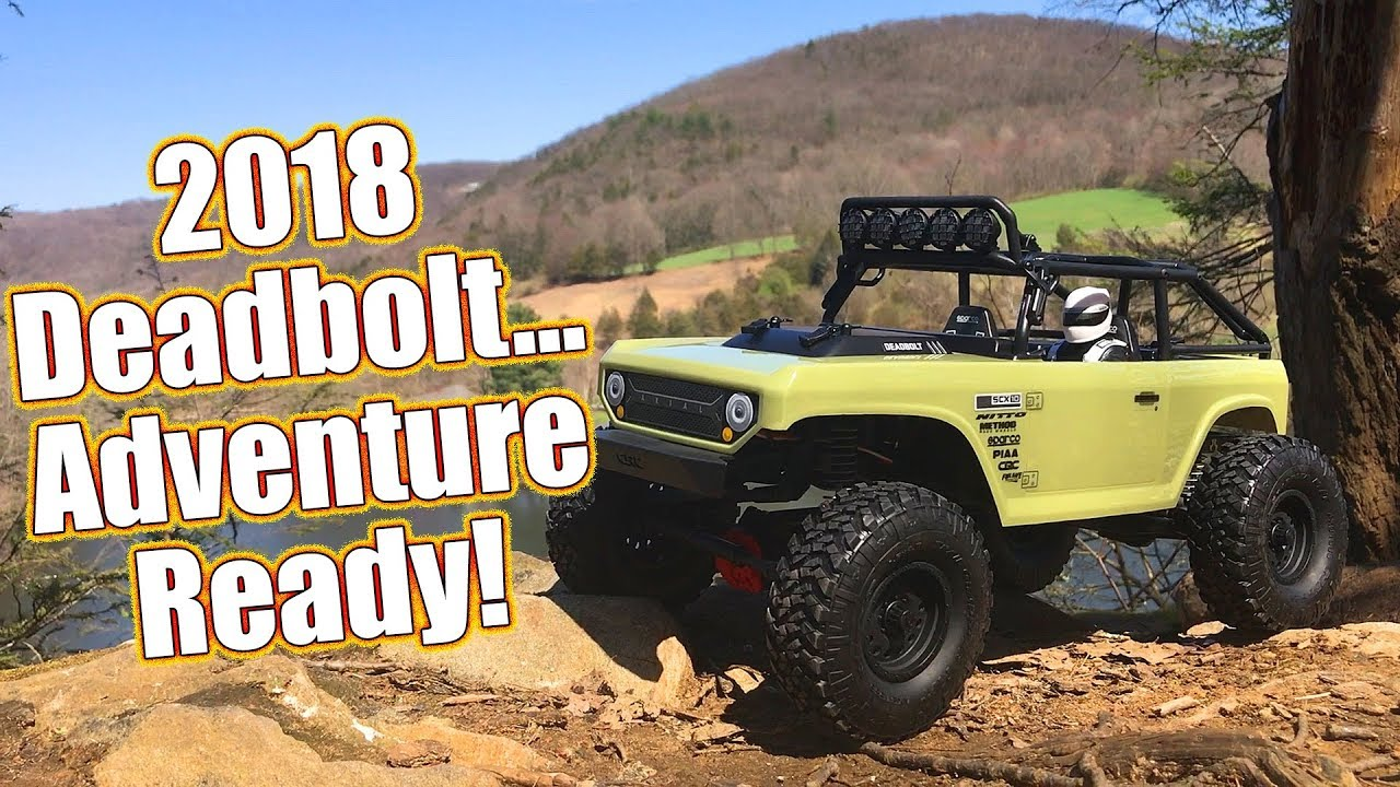 RC Trail Truck Favorite Gets A 2018 Overhaul! - Axial SCX10 II Deadbolt  Running & Review | RC Driver