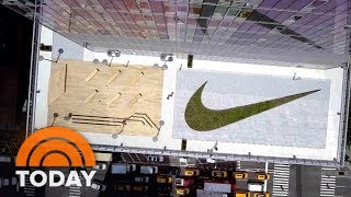 Gabby Douglas Goes Inside Nike's 'Stunning' New NYC Headquarters | TODAY