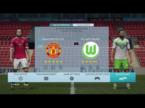 preview ยูฟ่าแชมเปี้ยนลีก man united vs wolfsburg(ai legendary)60fps