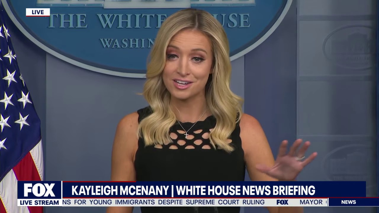 Chaos Briefing Kayleigh Mcenany Goes Toe To Toe With Media Youtube