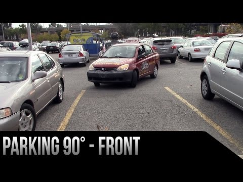 Parking 90° - Front