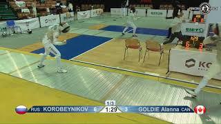 2019 118 T64 14 F F Individual Katowice POL WC YELLOW GOLDIE CAN vs KOROBEYNIKOVA RUS
