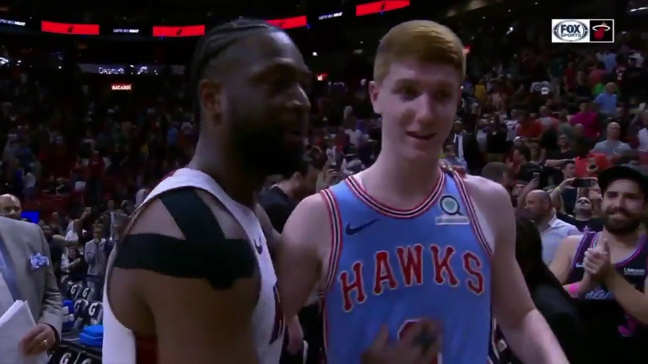 sports shoes fc212 0728c D. Wade SHOCKS Kevin Huerter By Asking for Jersey Swap, Explains Why!