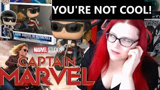 You Are Not Cool Enough For Captain Marvel!