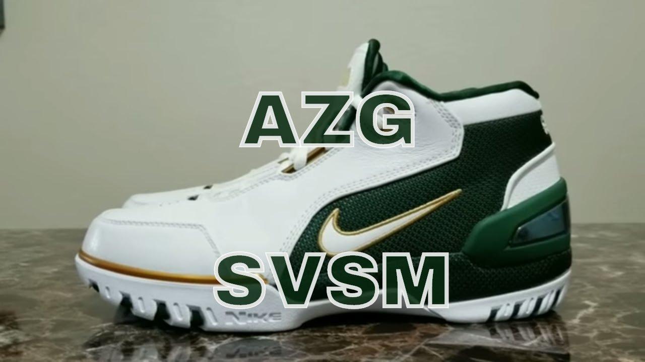 81b7eaf64579 Nike Air Zoom Generation SVSM QS - Saint Vincent - Saint Mary - YouTube
