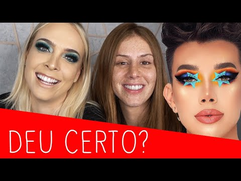 FIZ A MAKE DO JAMES CHARLES NA MARI MARIA 😱 thumbnail