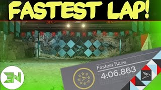 SRL Fastest Lap - Infinite Descent , Venus - 4:06.863 - Sparrow Racing League Gameplay