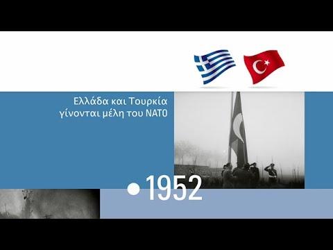 Η ιστορία του NATO -- χρονολόγιο σε βίντεο (NATO video timeline GREEK)