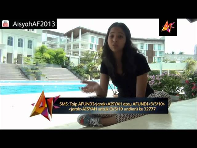 Vote For Aisyah Aziz [Akademi Fantasia 2013] Travel Video
