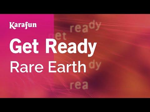 Karaoke Get Ready - Rare Earth *