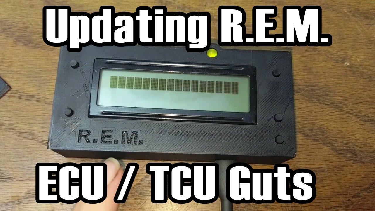 Updating Renix Engine Monitor / ECU & TCU Guts