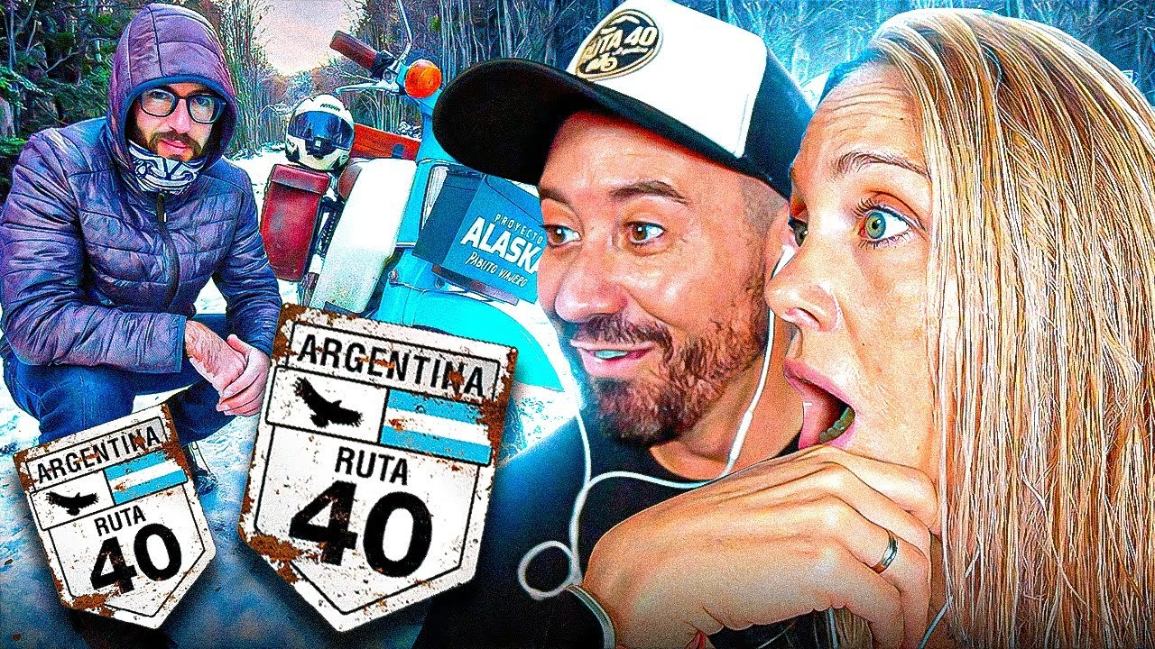 Españoles REACCIONAN a la INCREIBLE RUTA 40 🇦🇷 Ft Pablo Imhoff