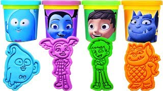 Gambar cover Vampirina Play-Doh Molds & Surprise Eggs, Learn Colors, nursery rhymes