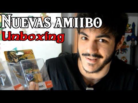 Nuevos amiibos de Link - Unboxing (Skyward Sword, Majora's Mask y Twilight Princess)