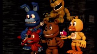 "FNaF World characters sing ""Halloween at Freddy's"""