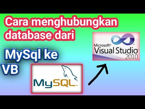 Cara Menghubungkan Visual Basic Dengan Phpmyadmin