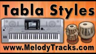 Tujhse naraz nahi - Tabla Styles Yamaha Keyboards indian Kit for Bollywood Songs - Classic SET 4
