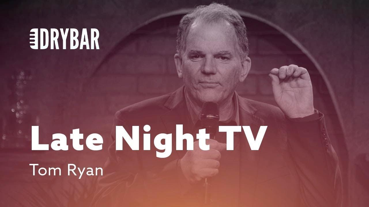 DryBar Late Night Television. Tom Ryan