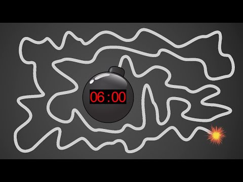 6 Minute Timer BOMB 💣 With Giant Bomb Explosion