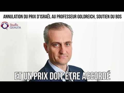 Annulation du Prix d'Israël au professeur Goldreich, soutien du BDS -  L'invité du 11 avril 2021