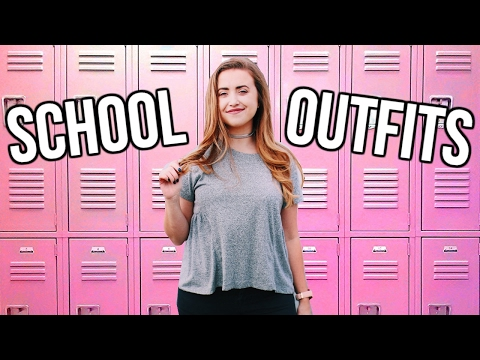 OUTFITS FOR SCHOOL 2017 | Cute & Comfy School Outfit Ideas