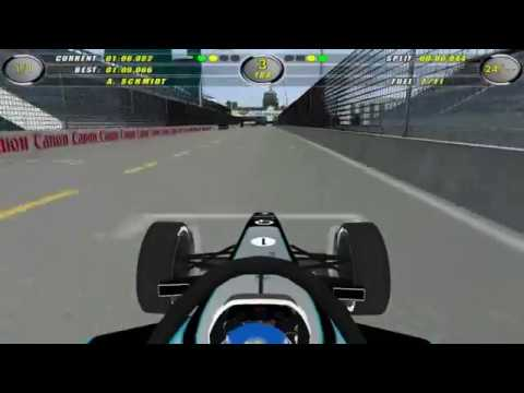F1 Challenge Formula E lap on FE legal Toronto Circuit