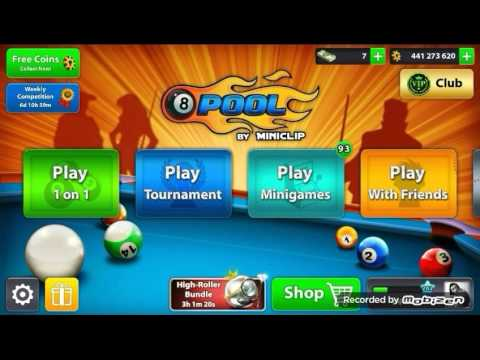 8 Ball Pool - Berlin Platz 50M (VIP CLUB Emerald)