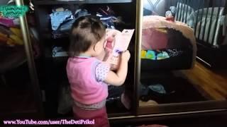 Реакция Ребенка на Откровенное фото Девушки!   Children's responses to candid photos of Girls!
