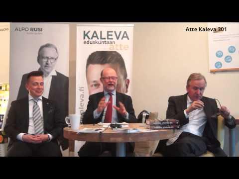 Atte Kaleva - Alpo Rusi - Tapani Ruokanen - Ulkopoliittinen keskustelu (kokonainen versio)