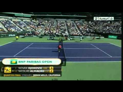 Djokovic × Almagro set 1
