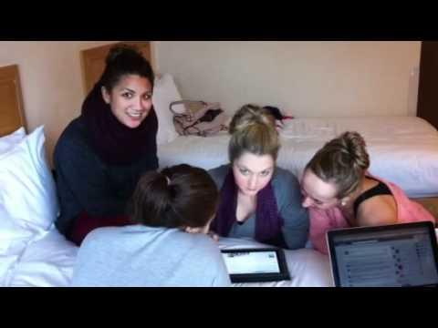 Aquabatique Chatting To Their Fans Via Facebook Prior To Pe
