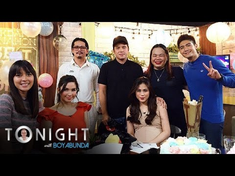 TWBA: PBB staff  throws Mariel & Toni a baby shower