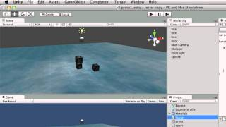 Unity Tutorials - B27 - Pausing the Game with timeScale - Unity3DStudent.com thumbnail