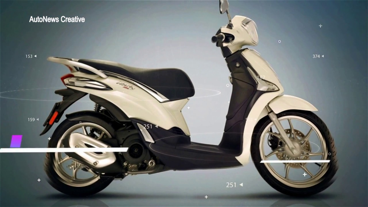 2018 Piaggio Liberty Scooter Specifications Overview Youtube