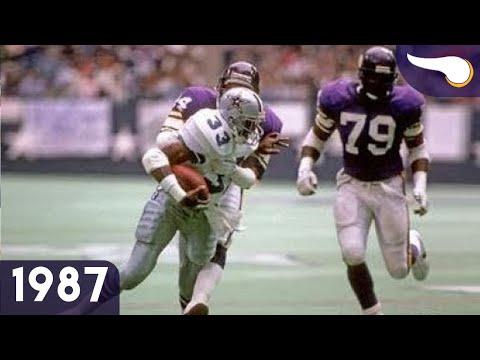 Thanksgiving Shootout Down in Texas - Vikings vs. Cowboys (Week 12, 1987) Classic Highlights