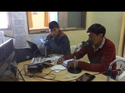 Entrevista en radio Santa Monica