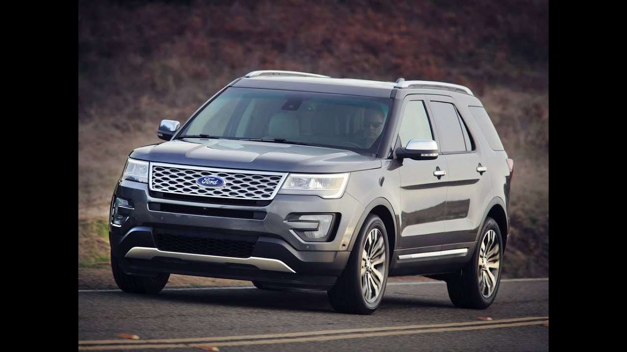 2016 ford explorer ford suvs ford cars youtube