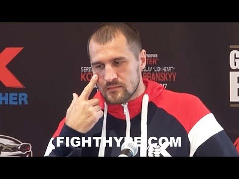 """(WOW!) KOVALEV THROWS SHADE AT ANDRE WARD RETIREMENT; STILL HAS """"HATE"""" FOR RIVAL: """"GOOD FOR BOXING"""""""