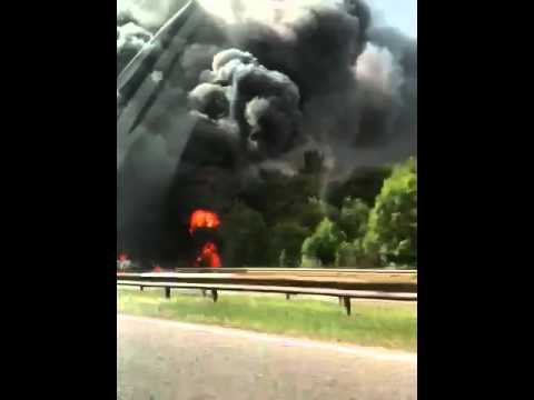 Real Radio: Fire That Has Closed the M1