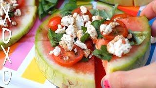 Watermelon Pizza | Xoxo Cooks