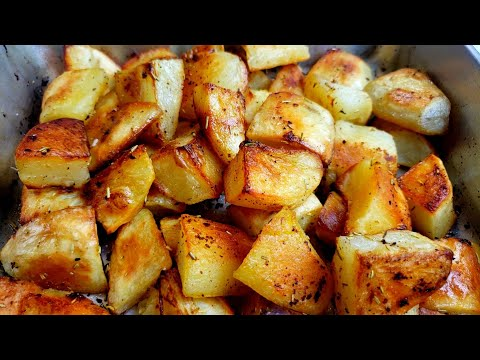 Perfectly Roasted Potatoes at Home with Oven