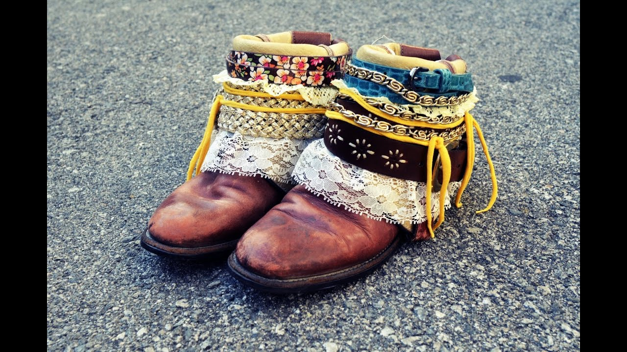 Mr Kate Diy Boho Boots Tutorial